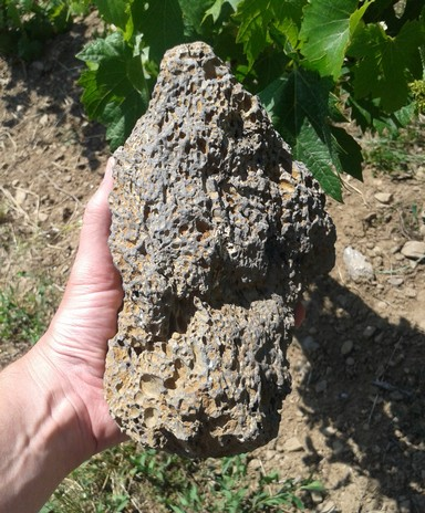 Large scoria sample.