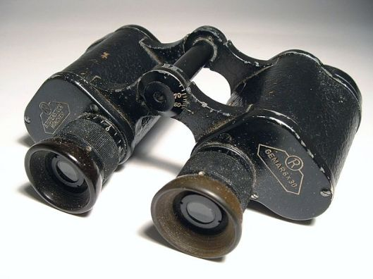 Binoculars in the hands of a Hungarian. Be afraid. Be very afraid.