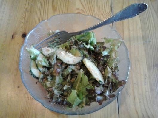 Fresh garden salad.