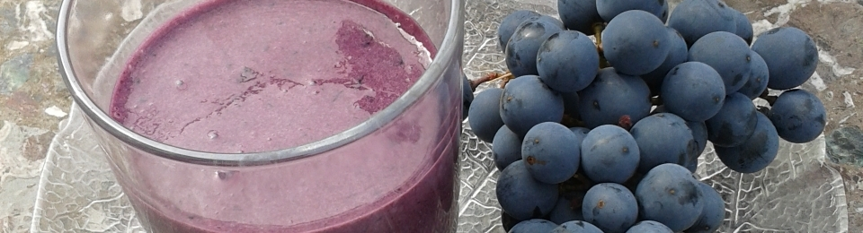 Turán Grape Smoothie